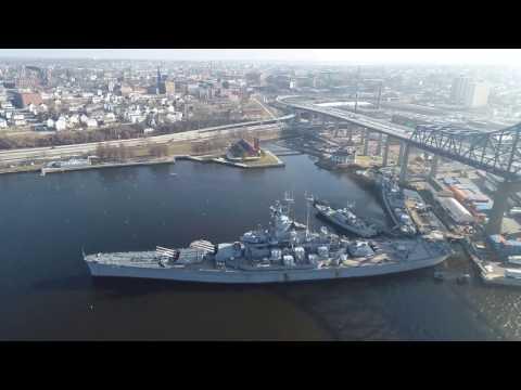 Battleship Cove Jan '17 with my Inspire 2