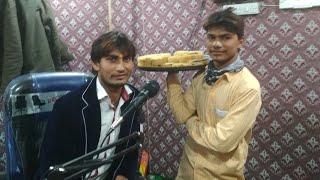 कृष्णा निदर्दी ने आज एक सनपापड़ी बेचने वाले को गवाये नया साल का गाना _ Durgesh Keshari _ Live Video