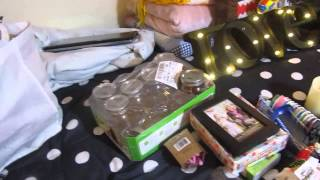 Awesome!!! MICHAELS Craft stores Dumpster Diving haul