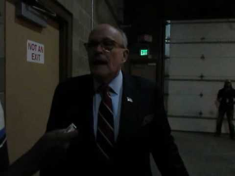 Giuliani talks to Elko Daily Free Press about Trump scare at Reno rally