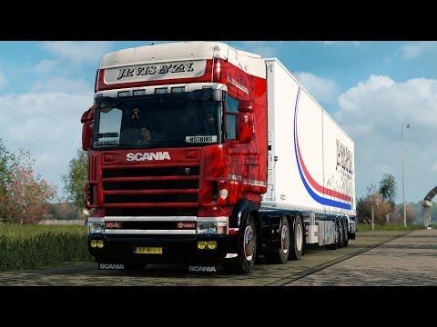 ETS 2 1.27 ProMods 2.16 Scania 164L  Zwolle - Helsingborg Part 2/2
