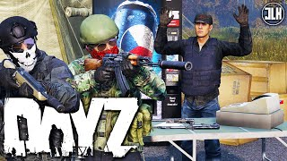 DAYZ 1.01 | Getting Attacked at The Trader (PvP and Encounters)
