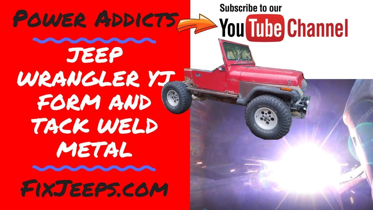 Download Jeep Wrangler YJ - Rust Bucket - Shaping metal to the frame