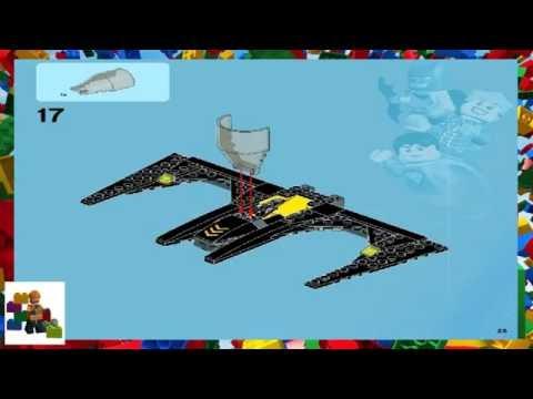 LEGO instructions - Super Heroes - 6863 - Batwing Battle Over Gotham City