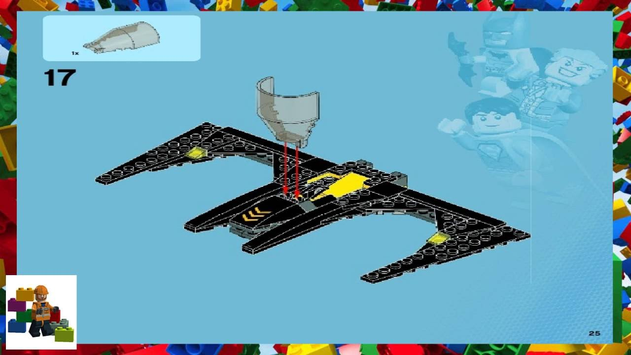 Lego Batman Movie Batwing Instructions