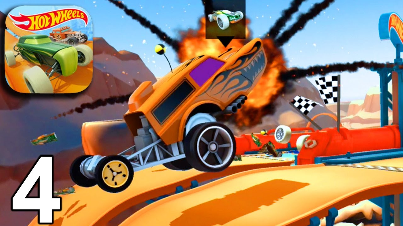 Hot Wheels Race Off Levels 13 14 15 16 Ios Android Gameplay