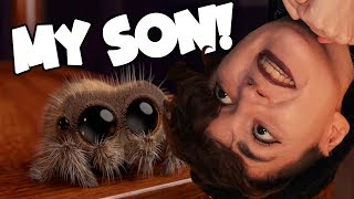 i HAVE A NEW SPIDER SON! (Lucas the Spider Reaction)