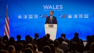 President Obama Holds a Press Conference at the NATO Summit