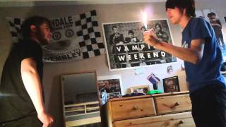 Download Video Star wars recreation with lighters MP3 3GP MP4