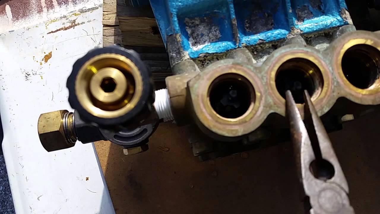 Pressure Washer Pump Cat 66dx Low Pressure Cause Check