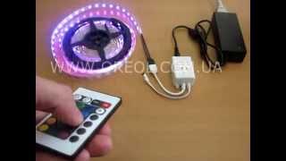 Видео: Контроллер светодиодной ленты RGB-24
