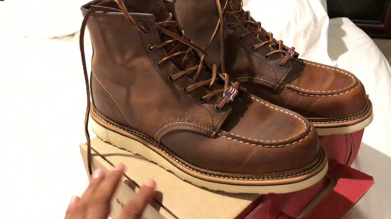 51281e69b63 Unboxing Red Wing 1907 6