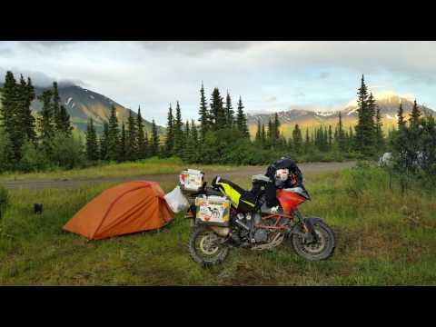Maryland to Alaska 2016 Solo on KTM 1190 9 minutes for HU9MMFF