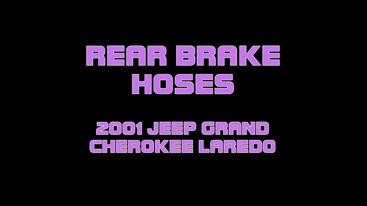 jeep cherokee brake rear grand 2001 laredo