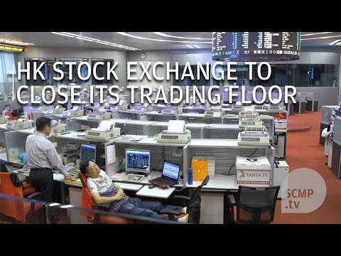 After 31 years, Hong Kong Stock Exchange closes the doors of its trading floor