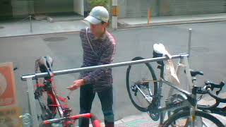 A road bike can do seconds anti-theft from thieves? : Bicycle lock key destruction link