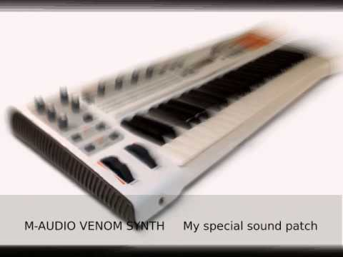 M-Audio Venom synth - my new solo patch demo