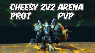 Cheesy games (2v2) - 8.0.1 Protection Paladin PvP - WoW BFA