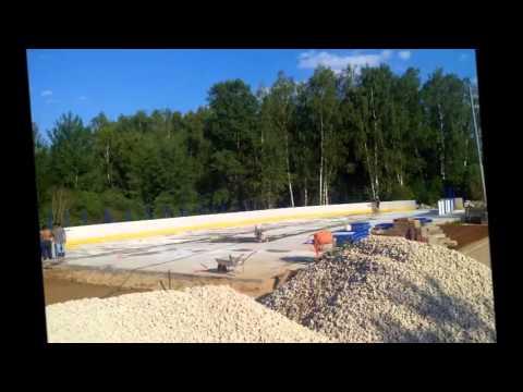Строительство Спортивной Площадки CRONA VILLAGE 2015