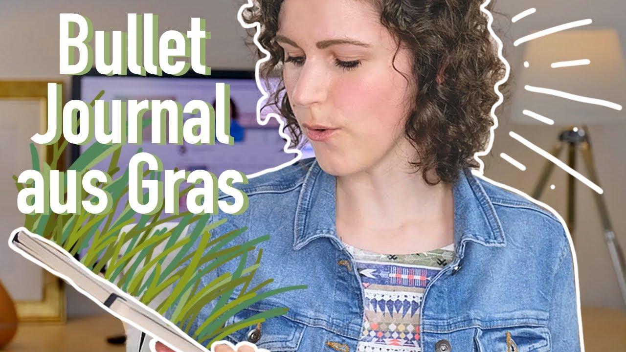 Notizbuch Aus GRAS? | Wirklich eine Alternative?