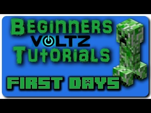 Minecraft Voltz Mod Pack Beginners Tutorial - Part 1 - How to ...