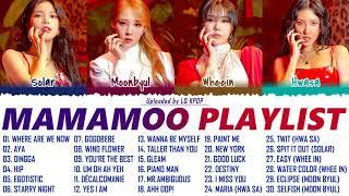 MAMAMOO BEST SONGS PLAYLIST 2021 UPDATED   마마무 노래 모음