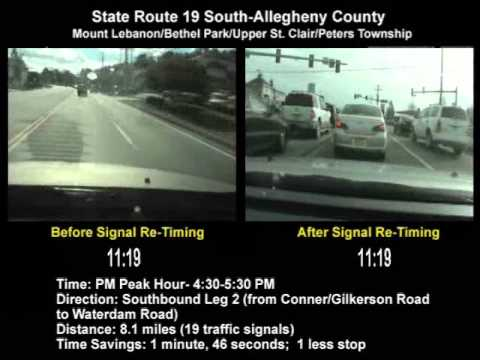 State Route 19 (South) SINC-UP Project (Allegheny County) PM Peak Southbound Leg 2