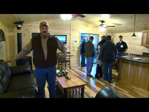 Zook Cabins and Bill Miller, American Hunter