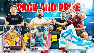 2HYPE Pack and Prize for GOAT Shoe! | NBA 2K21 Next Gen!!
