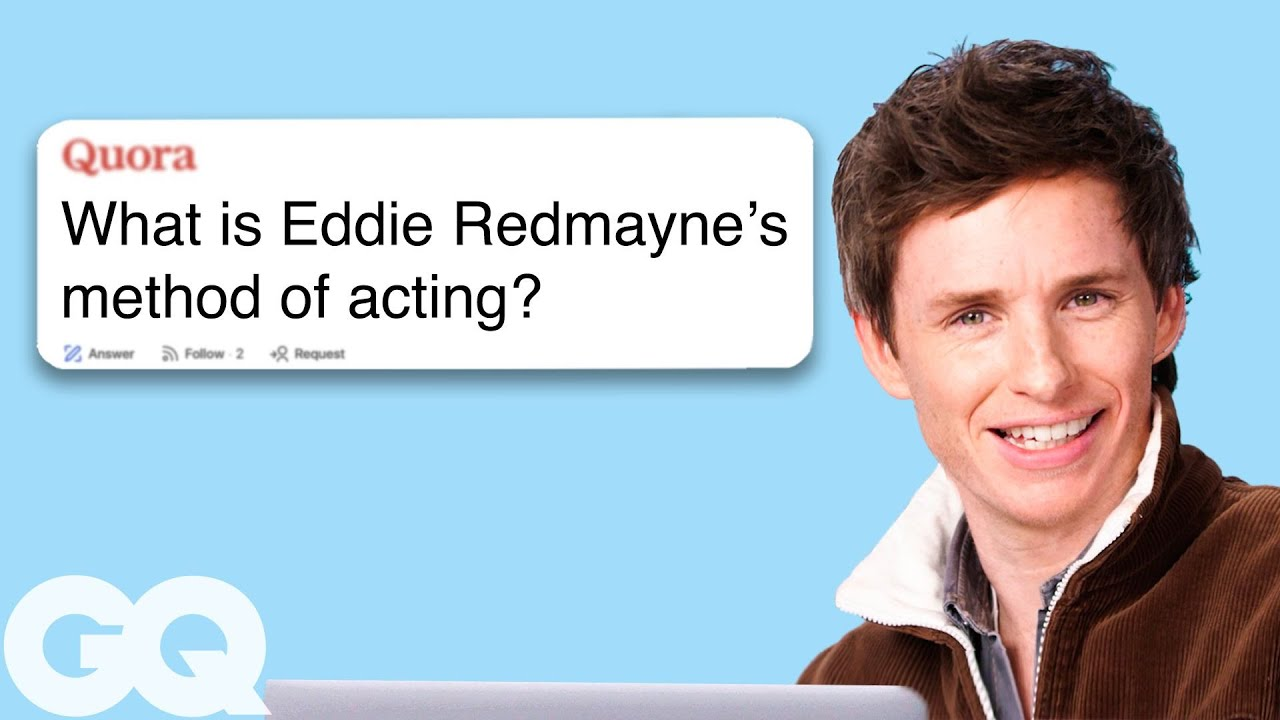 Eddie Redmayne Goes Undercover on YouTube, Reddit and Twitter