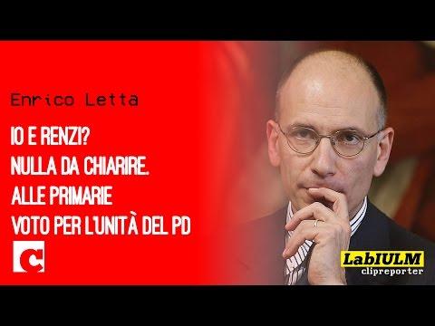 Intervista Enrico Letta