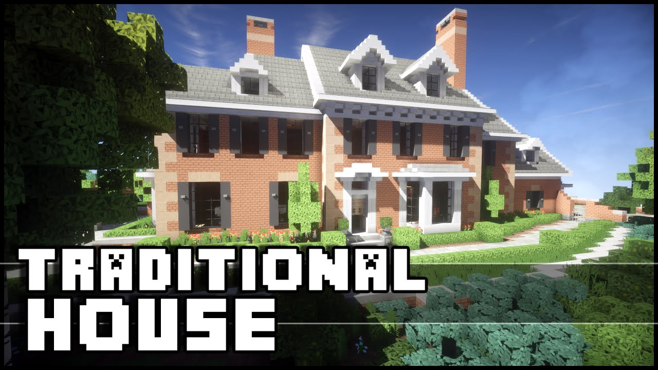 Minecraft - Awesome Traditional House! - YouTube - photo#2