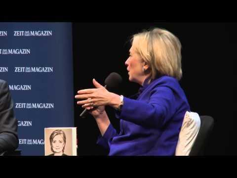 ZEITmagazin im Gespräch mit Hillary Rodham Clinton, Berlin, 6. Juli 2014