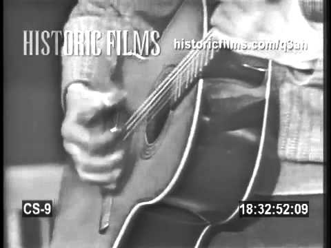 PETE SEEGER - HARD TRAVELLIN' - LIVE 1966
