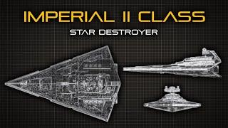 Star Wars: Imperial-II Class Star Destroyer   Ship Breakdown