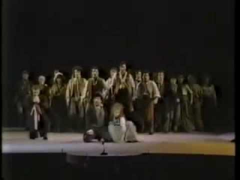 Les Miserables at the Tony Awards