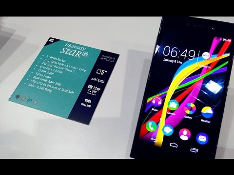 WIKO mobile - HIGHWAY STAR Official Demo #MWC15
