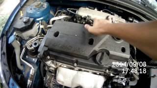 цоканье (стук) двигателя KIA RIO 2010 JB
