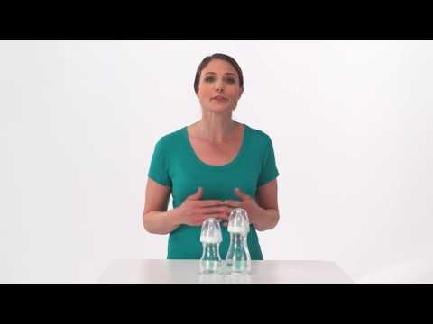 Стеклянные бутылочки BornFree breeze™ 150 мл, 2 шт.. Видео №1