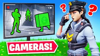 I USED SECURITY CAMERAS To WIN (Fortnite)