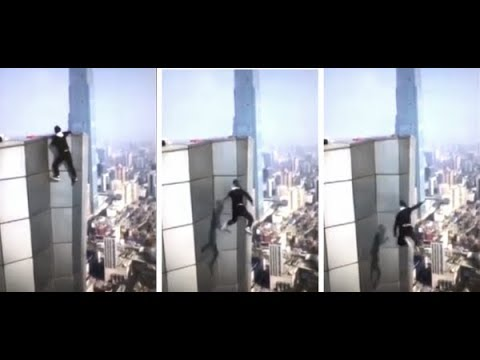 Wang Yong Ning Daredevil Famous For High-Rise Stunts 'Fell To His Death' From Skyscraper