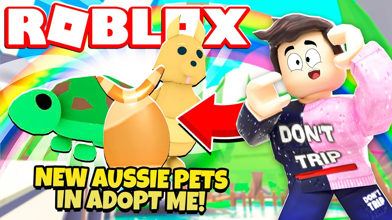 Leaks New Legendary Aussie Egg Pets In Adopt Me New Adopt Me Aussie Update Roblox Youtube