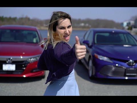 2018 Honda Accord EX-L VS Camry XLE Comparison | Herb Chambers Honda