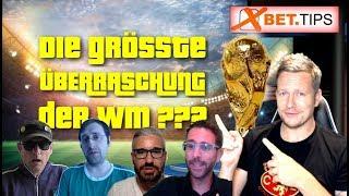 Die größten Überraschungen der Fußball-WM 2018 - Das sagen die besten Youtube-Tippster!