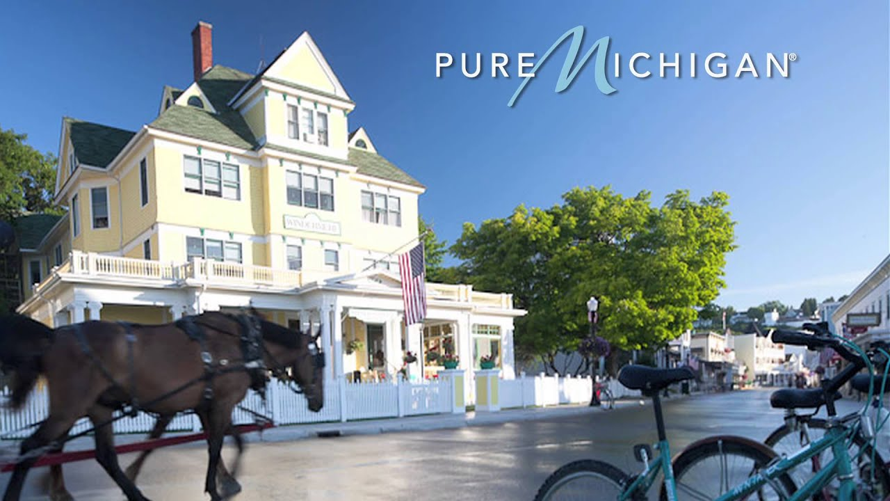 Pure Michigan Fall Wallpaper Mackinac Island Fall Specials Pure Michigan Youtube