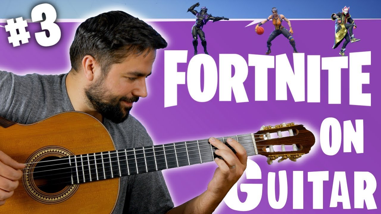 Fortnite Dances On Guitar Fortnite Dances On Guitar Part 3 Youtube