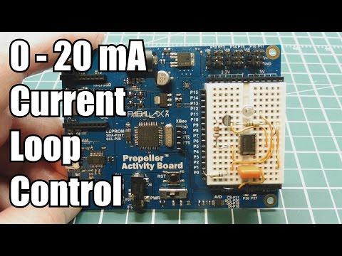 0 - 20 mA Current Loop Control  /  Remote Variable Resistor