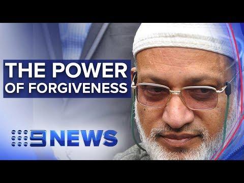 Christchurch victim forgives gunman   Nine News Australia