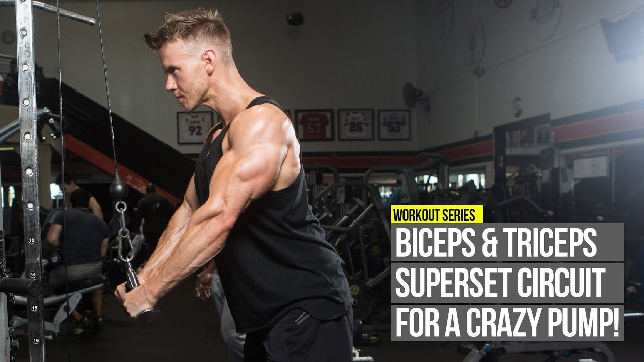 How to pump your biceps and triceps at home: a training program and recommendations 45