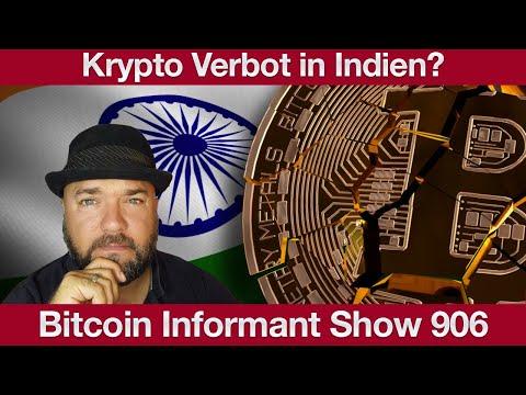 #906 Ethereum Inflation, Bitcoin Mining Schwierigkeit Anstieg & Krypto Verbot in Indien